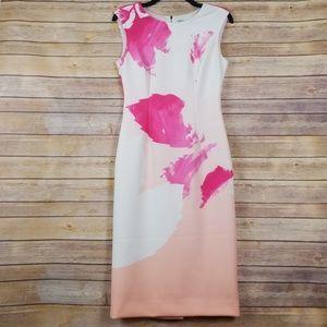 Antonio Melani| Abstract Sheath Dress sz 2